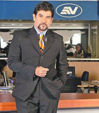 Ecuadorian journalist and former Ecuavisa anchor, Carlos Vera. Used under permission