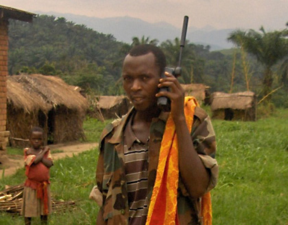 FDLR combattant in South Kivu wishing to enter the DDDR programme (picture by Steve Hege)