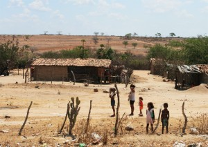 he vast dry zone in Northeastern Brazil, which is not in the urban center, but it also has problems of concentration of income. Photo: Maria Hsu/Creative Commons