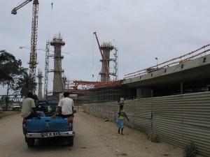 Nova ponte, Catumbela