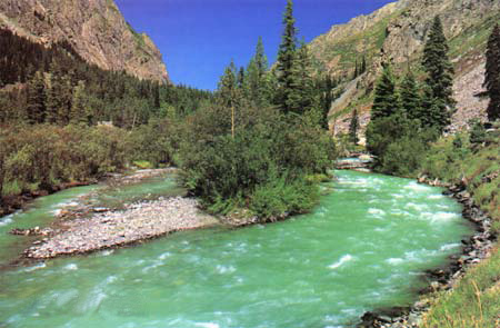 River Swat, Kalam, Photo from Flickr by Farooq Nasir, used under a Creative Commons license