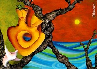 Collage by Elvira Méndez