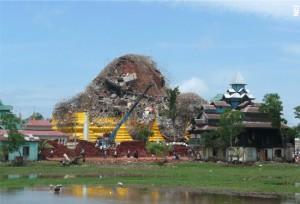 Collapsed Danoke Pagoda