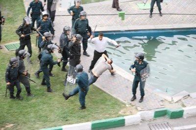 Foto delle proteste