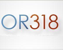 OR318 logo