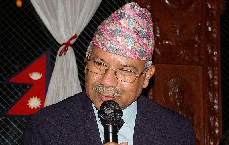 Prime Minister Madhav Kumar Nepal, Image by Utudanuki, Wikipedia