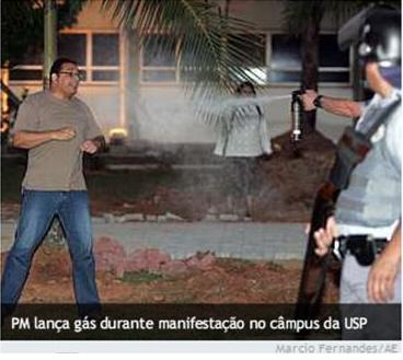 Professor Marcos Ferreira foi para nos jornais