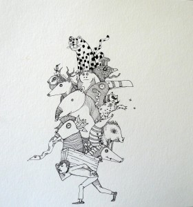 Le voleur d´animaux by Sebastian Sarti.