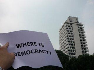 'Dov'è la democrazia' in Malaysia?