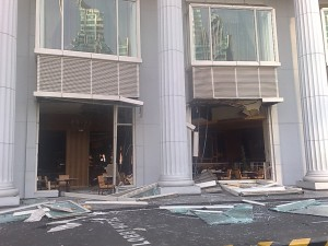 Ritz Carlton After Explosion