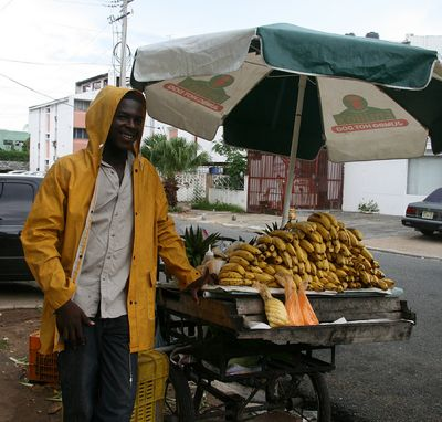 Haitian fruit vendor in the Dominican Republic. Photo by Caymang and used under a Creative Commons license. http://www.flickr.com/photos/dlakme/2903770065/