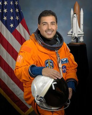 Astronaut José Hernández and from Wikimedia Commons