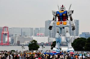 'Gundam Takes Tokyo' by flickr user Ame Otoko