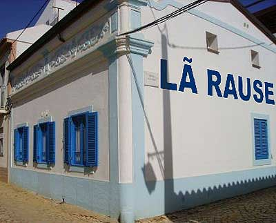 """Lã Rause"", in an even more Brazilian spelling. Photo from PraLer Blog."