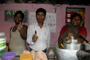 2007: Namita Sharma's Tea Stall (Gariahat, Kolkata) welcomed Blank Noise poll