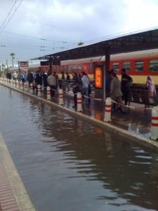 Gare Rabat Agdal Creek