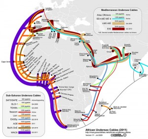 GLO-1 is Africa's newest submarine cable.