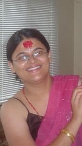 Bhumika, after receiving tika and jamara