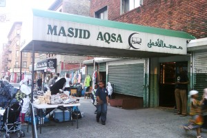 Day 9: Masjid Aqsa (West African mosque on Manhattan)