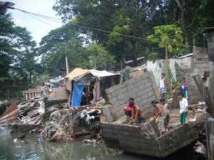 Several parts of Metro Manila are still flooded