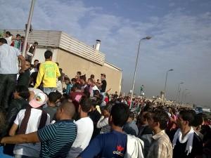 حشود مصرية