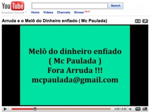 MC Paulada/You Tube