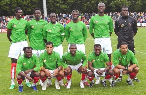 Members of the Togolese national football team before a warm-up match in Biberach/Riss a few days before the World Cup (Source: Wikipedia)