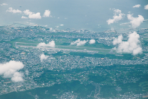 The Futenma Base. By Flickr id: hyougushi.