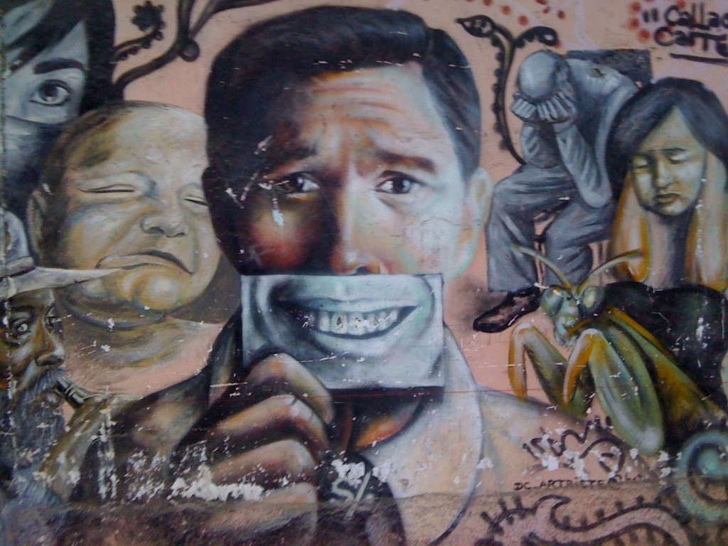 Photo by Luis Fonseca. Used with permission. Taken from http://cazadordegraffitis.blogspot.com/2008/11/sentimientos-ocultos.html