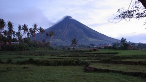 Le volcan Mayon - photo : Natz Tolentino Llaguno sur Flickr