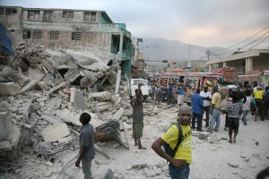Photo of Port-au-Prince in aftermath of January 13th earthquake (David Morel @photomorel)