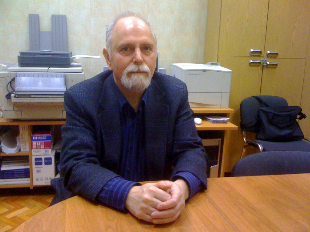 Dr. Alexander Voiskounsky at Psychology Department, Moscow State University