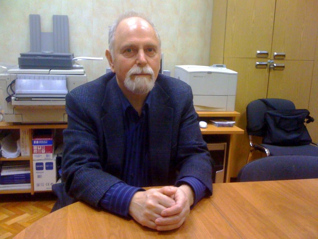 Dr. Alexander Voiskounsky at Psychology Department, Moscow State University