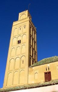 Bab Berdieyinne Minaret, Meknes Morocco (photo by Eli J. T.)