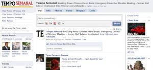 Tempo Semanal on Facebook