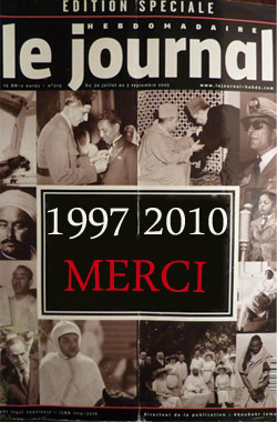 Le Journal Hebdomadaire 1997 2010