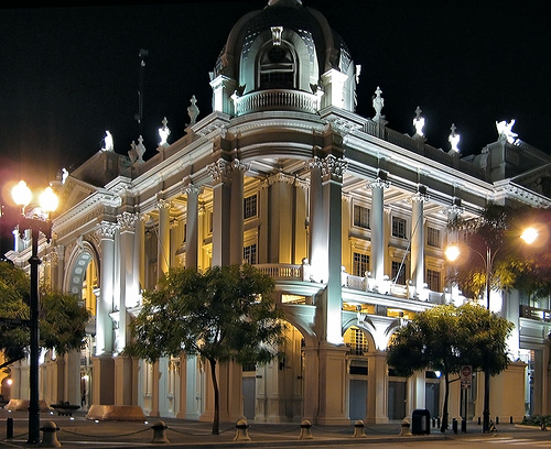 Nebot's administrative headquarters - Guayaquil City Hall. Picture by Flickr user Roofwalker and used under a Creative Commons license.