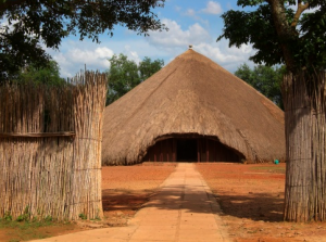 The Kasubi Tombs in October 2008.  Photo courtesy of Lauren.