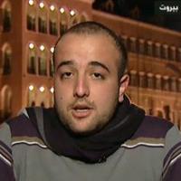 De Libanese blogger en journalist Khodor Salameh (Jou3an)