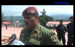National Police Commander Longuinos Monteiro