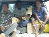 Members of the Bua Malus Group, arrested by civilians 5 March 2010.  CJITL