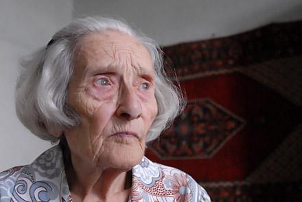 Sopravvissuta al genocidio, Yerevan, Repubblica di Armenia © Onnik Krikorian