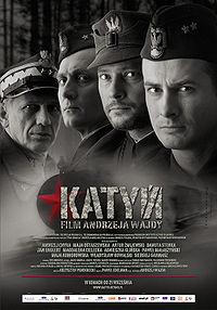 Katyń movie poster, Wikimedia Commons
