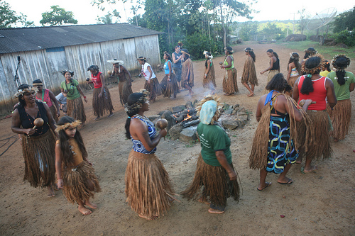 Tupinamba people in Serra do Padeiro, Brazil. Photo used with permission (Sean Hawkey/ACT)