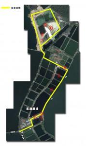 Mappa del progetto di sviluppo dell'East Lake