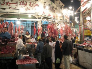Meat market near Ataba, Egypt - by Furibond on Flickr