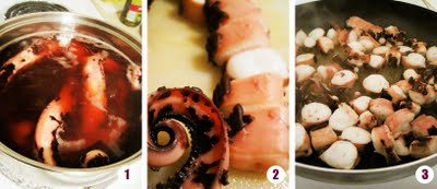 Italian octopus stew by Mariana Flores (Food Junky) and used with permission.
