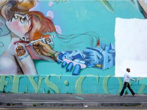 Artista di Strada, Sud Africa. Foto di candinski su Flickr (2005)