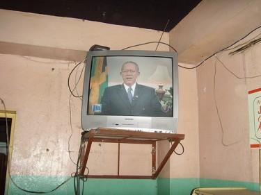 Il Primo Ministro giamaicano, Bruce Golding