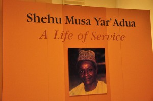 An exhibit at the Shehu Musa Yar'Adua Museum in Nigeria. Photo courtesy of afromusing on Flickr.